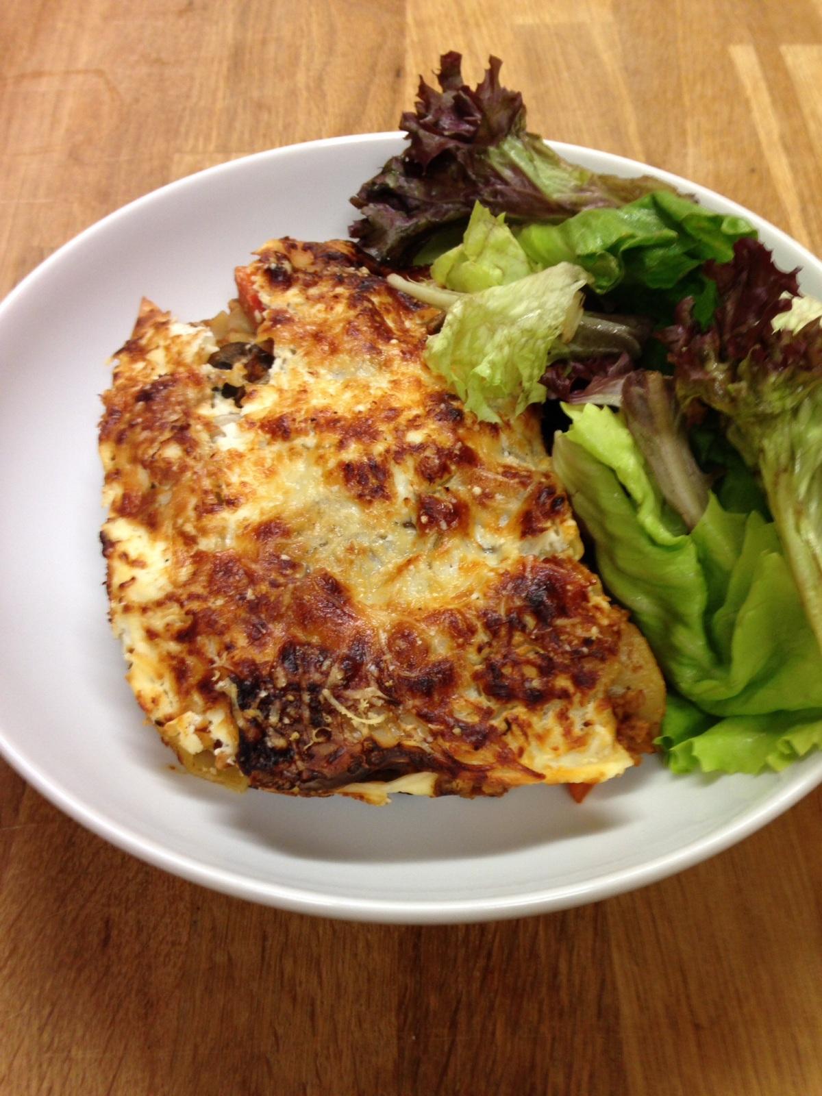'Skinny' Veggie Lasagne