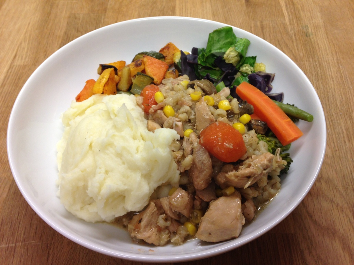 Warming Winter Chicken Casserole
