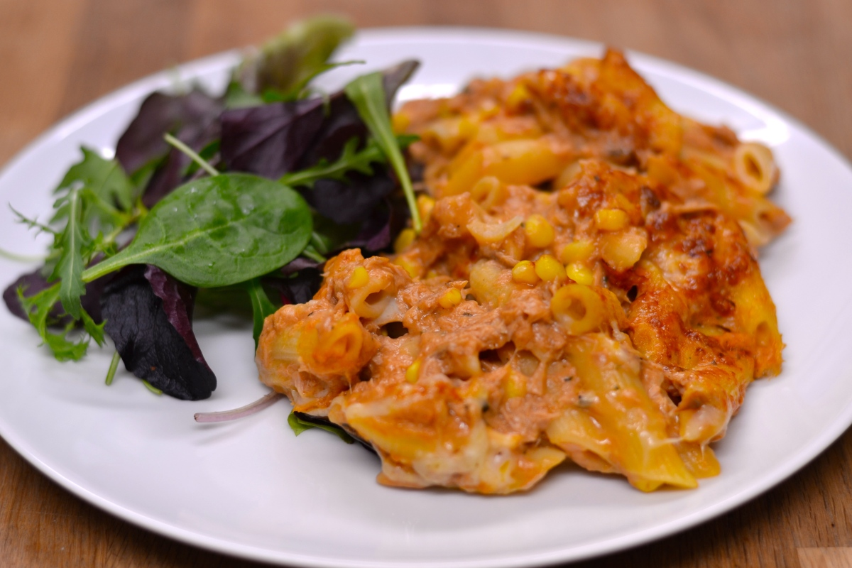 Not Just Another Tuna Pasta Bake