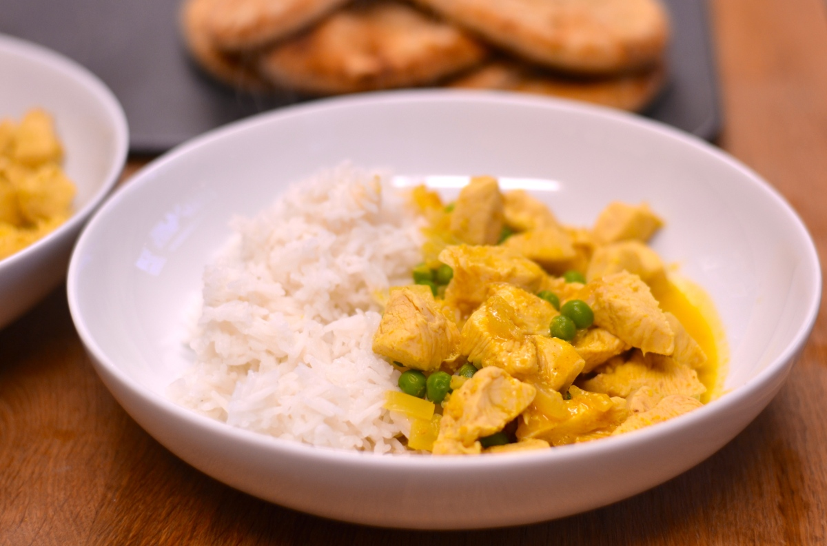 Quick Coconut Chicken Curry