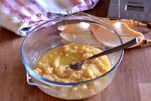 Microwave Banana Pudding  | thehecticcook.com