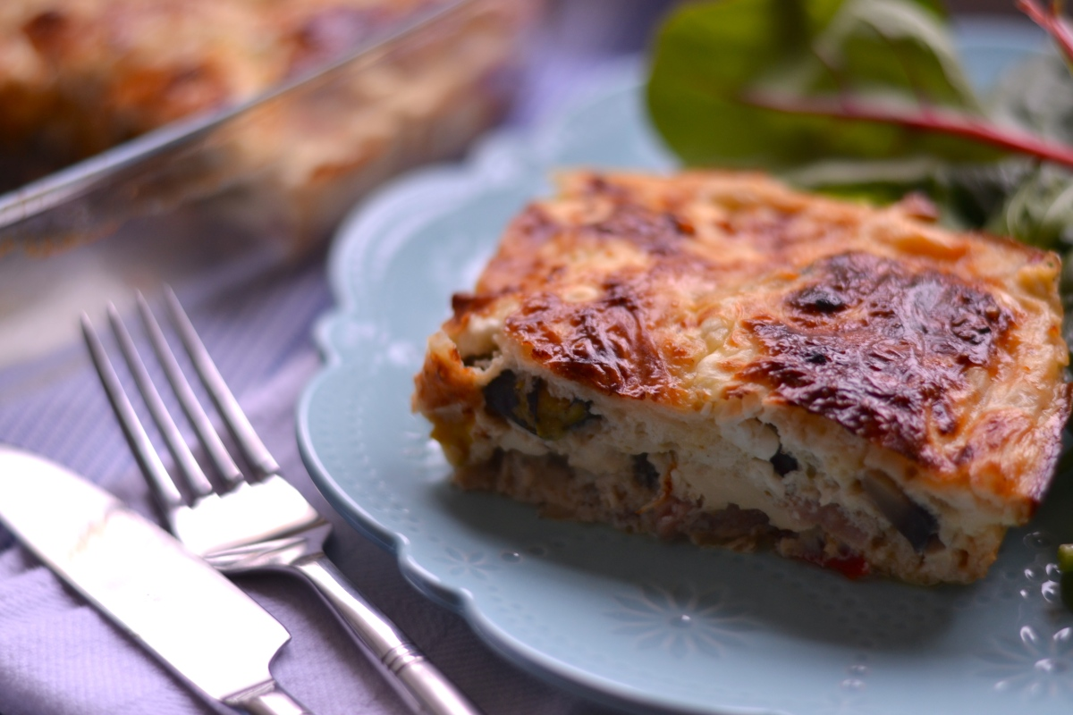 Healthy Crustless Quiche